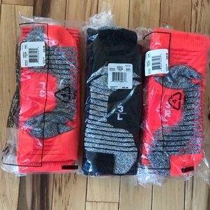 NEW 3 pairs of Nike soccer socks adult size 8-9.5